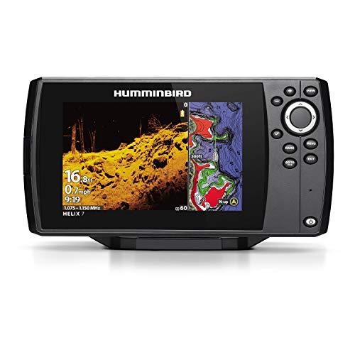Humminbird HELIX 7 Fish Finder 410940-1, CHIRP Mega DI GPS...