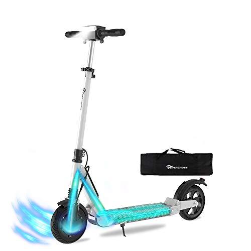 HITWAY Trottinette Scooter électrique Pliable Batterie E-Scooter Pliable 7.5Ah | 350 Watts | 30 km/h | pour Adolescents et Adultes