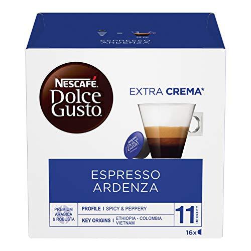 Nescafé Dolce Gusto Espresso Ardenza Caffè, 6 Confezioni da 16 Capsule (96 Capsule)