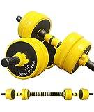 AJAYR Adjustable Dumbbells with Connector Dumbbells Set 22LB (11 Lb-2)