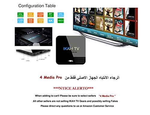 New Arabic IPTV Receiver NO Monthly FEE 3500+ Channels Including 50 Country in Africa, North America, European, Asian, All Arabic Countries. (2 Year Subscription)