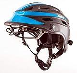 The Hummingbird V2 Girls Lacrosse Helmet (Black, Medium)