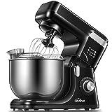 Robot Pâtissier, Kealive Robot Cuisine Multifonctions à 8 Vitesses avec...