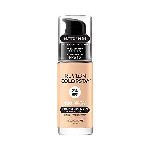 Revlon ColorStay Makeup for Combi/Oily Skin Sand Beige 180, 1er Pack (1 x 30 g)