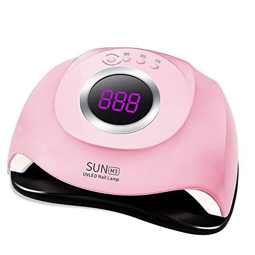 UV Nail Dryer Lamp 180W Automatic Sensor 45 UV Light 4 Timer 10 30 60 99S Professional Manicure Pedicure for UV Gel, UV Builder, Gel Nail Polish Home Manicure Store