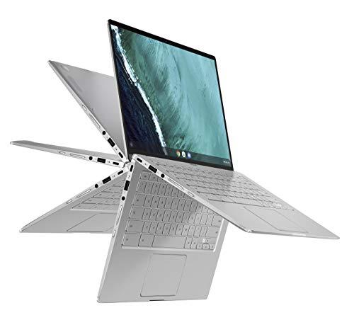 "Asus Chromebook C434TA-E10004 PC Portable Convertible 14"" FHD Touch, gris (Intel i5, RAM 8Go, EMMC 64Go, Chrome OS) Clavier AZERTY Français"