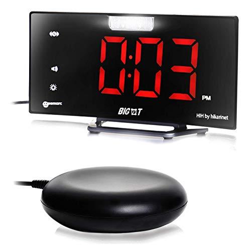 ビッグタイム BIG-T 振動式 目覚まし時計