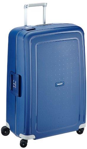 Samsonite S\'Cure - Spinner L Koffer, 75 cm, 102 L, Blau (Dark Blue)