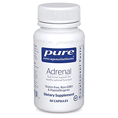 Adrenal Support: Nutritional support for healthy adrenal function.* Cortisol Support: Supports healthy cortisol levels.* Unique Supplement: Adrenal is a supplement designed to provide support to your adrenal glands and gland function.* Pure Quality: ...