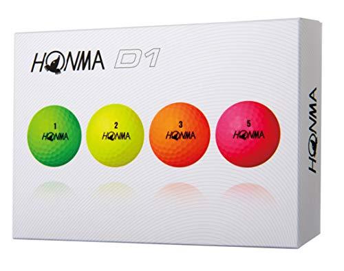本間ゴルフ ゴルフボール New D1 New D1 BT-1801 マルチ