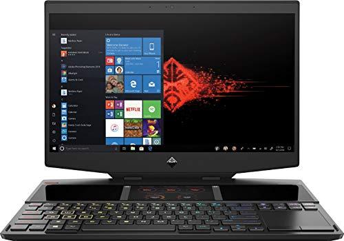 "HP OMEN X 2S 15-dg0002ns - Portátil Gaming de 15.6"" FullHD 144Hz (Intel Core i7-9750H, 16GB RAM, 2 x 256GB SSD, NVIDIA GeForce RTX 2070-8GB, doble pantalla, Windows 10) negro - teclado QWERTY Español"