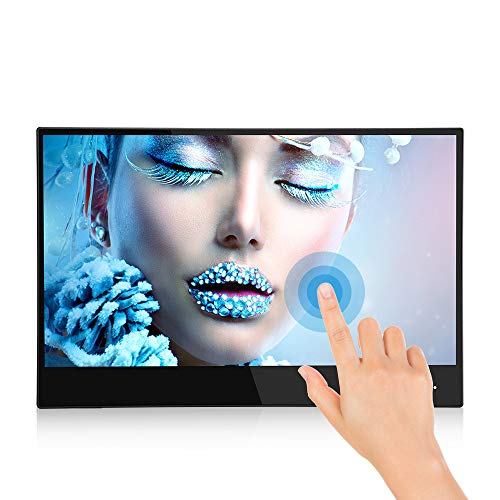 Eyoyo Monitor gioco portatile da 13,3 pollici 4K 3840X2160 IPS UHD portatile USB C Touch Screen Monitor