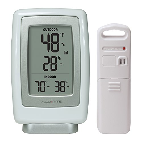 AcuRite 00611A3 Wireless Indoor/Outdoor Thermometer and Humidity Sensor