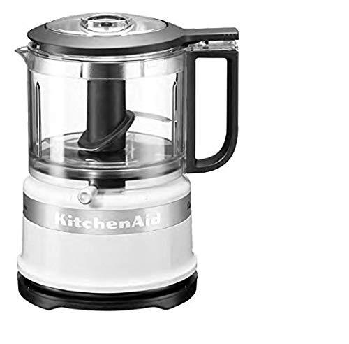 KitchenAid 5KFC3516EWH Mini Food Processor Classic, 0.83 L - Bianco