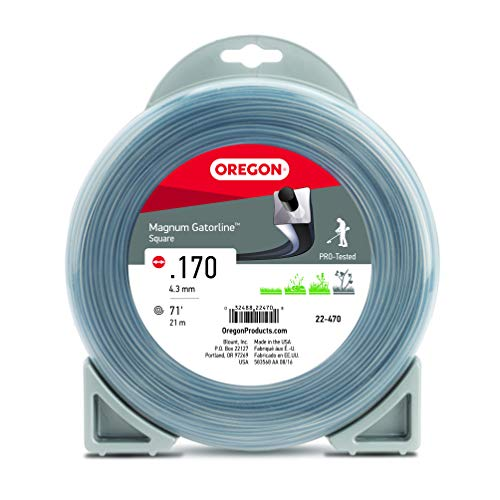 Oregon 22-470 Magnum Gatorline Square Trimmer Line Donut .170-Inch by 71-Foot