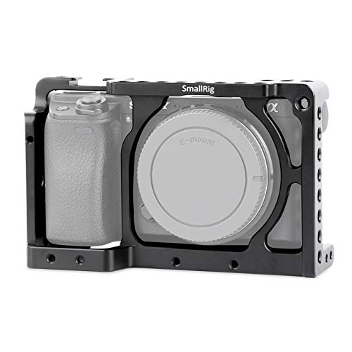 SMALLRIG Sony A6000/A6300/NEX7用ケージ 軽量 1/4ネジ穴配置 他のアクセサリーをマウント可能  カメラケージ 撮影キット 撮影機材-1661 並行輸入品