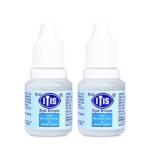 Ozone ITIS Ayurvedics Eye Drops (Pack of 2)