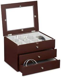 Joyero de diseño clásico para mantener ordenadas y limpias Las Joyas