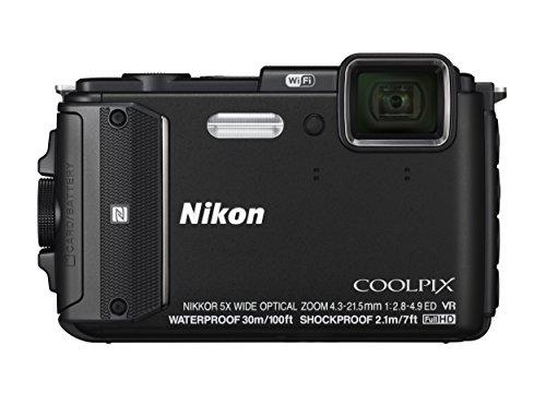 Nikon Coolpix AW130 - Cámara compacta de 16 MP (Pantalla de 3', Zoom óptico 5X, estabilizador...