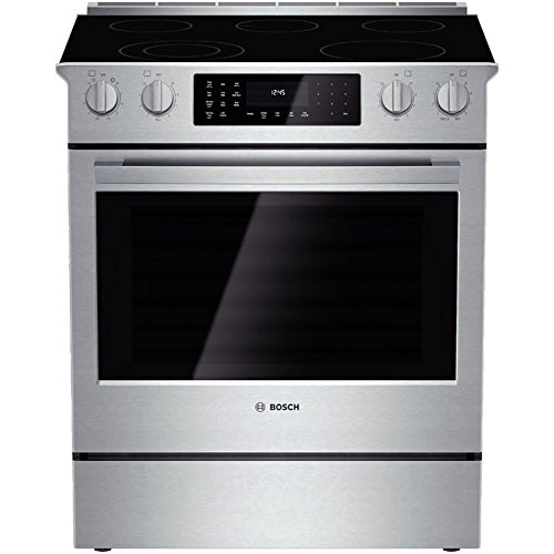Bosch HEI8054U 800 30' Stainless Steel Electric Slide-In...