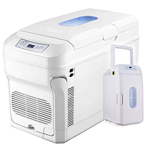 YADLCR Mini Frigorifero congelatore 35L, Auto/Camion 24V / 12V / 220-240V, frigo/Freezer Portatile Termoelettrico per Guida, Viaggi, Uso Domestico