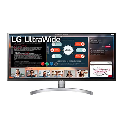 LG 34WK650-W 34' UltraWide 21:9 IPS Monitor with...
