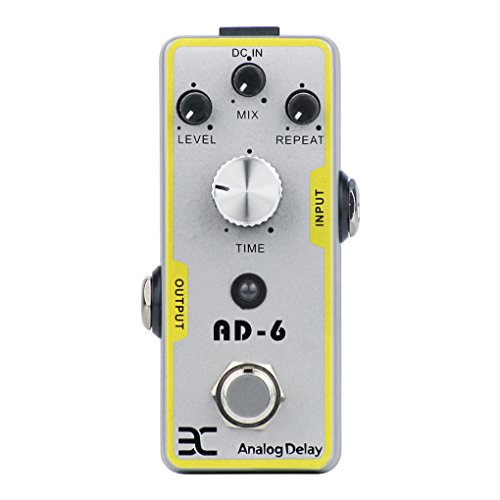 EX Analog Delay Guitar Effect Pedal With True Bypass Design