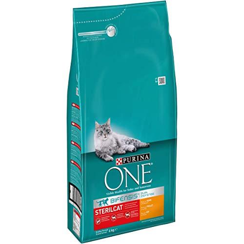Purina ONE BIFENSIS Sterilcat Katzentrockenfutter, für kastrierte Katzen,...