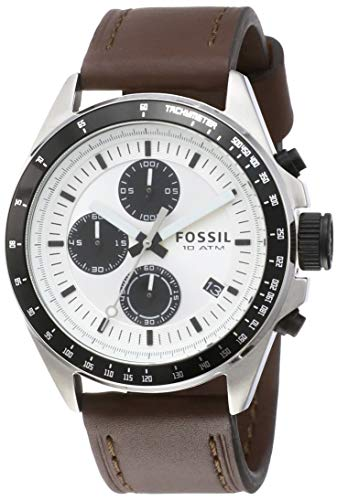 Fossil Chronograph White Dial Men's Watch