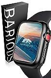 BARIOUS BARIGUARD3 for AppleWatch アップルウォッチ用 防水 保護ケース マットブラック Appl……