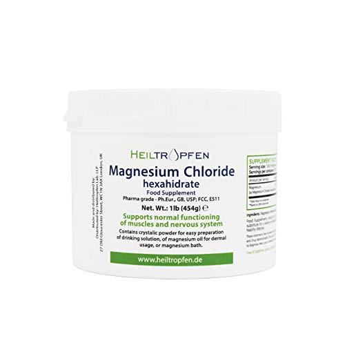 Heiltropfen Cloruro de Magnesio 1 LB - 454 g Hexahidrato | G