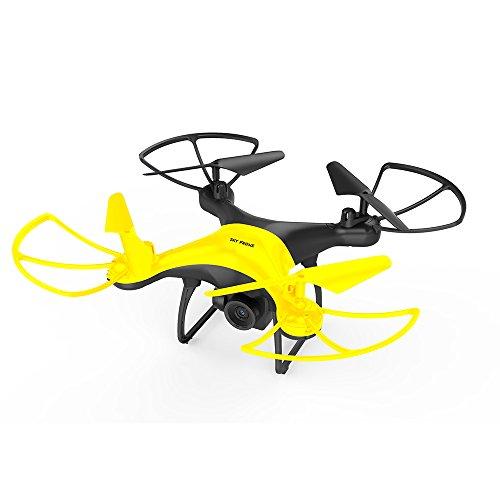 ZZH Droni con Fotocamera 480P, UAV ad Alte Prestazioni 20 Minuti di altitudine velocit Regolabile...