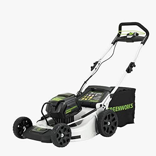 GreenWorks Tagliaerba semovente a Batteria 82v
