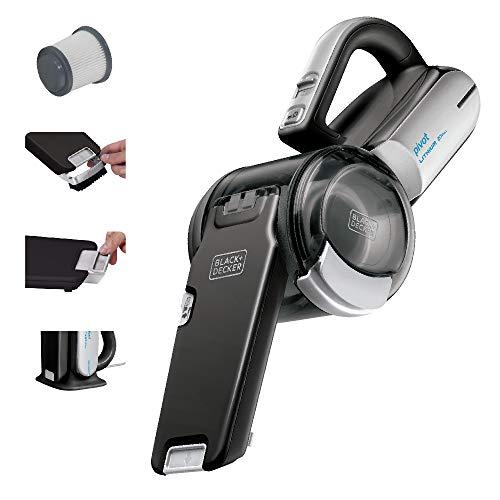 Product Image 1: BLACK+DECKER 20V Max Handheld Vacuum, Cordless, Grey (BDH2000PL)