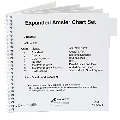 Amsler Grid Chart Set, Expanded