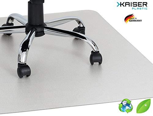 KAISER PLASTIC® ECO Bodenschutzmatte   75 x 120 cm   Hartboden   Made-In-Germany