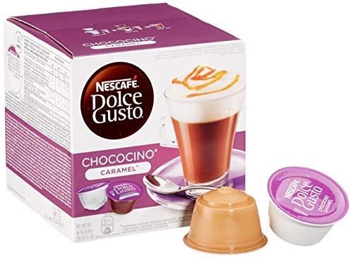Nescafé Dolce Gusto Chococino Caramel 48 Kapseln, 3er Pack (3 x 204,8 g)