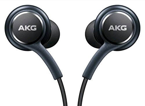 AKG - Ufficiale Galaxy S8/S8, Cuffie intrauricolari, telecomando + microfono vivavoce auricolari,...