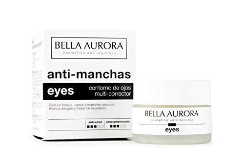 Bella Aurora Contorno de Ojos Crema Despigmentante, 15 ml  