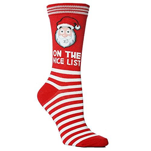 Calzini natalizi, calzini da donna, calzini da uomo, calze personalizzate, 2 paia di calzini di Halloween, D, Taglia unica