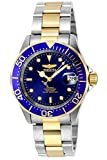 The Invicta 8928 has a 40 millimetres stainless steelcase with a blue dial This model is powered by an accurate automatic movement 20 bar water pressure resistance. This Invicta watch features a screw-down crown, turn anti-clockwise, and pull the cro...