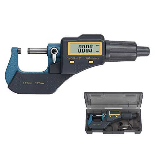 Proster Digital Outside Micrometer 0-1' Electronic...