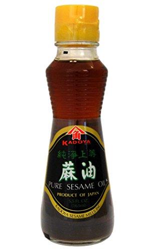 Kadoya - Aceite de sésamo puro 5.5 Oz. 163ml