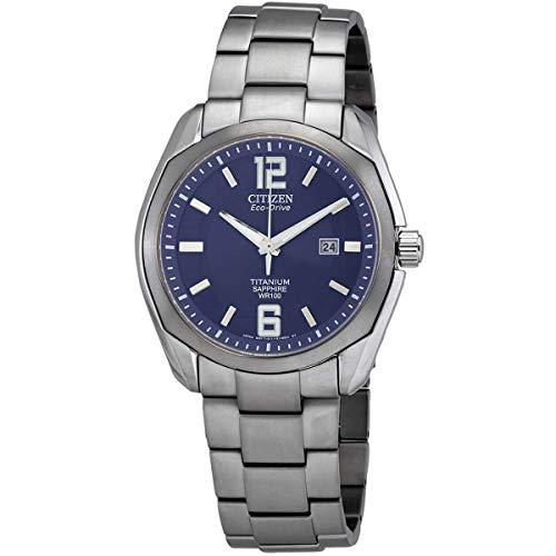 Citizen Chandler Eco-Drive Movement Blue Dial Men's Watch BM7080-54L