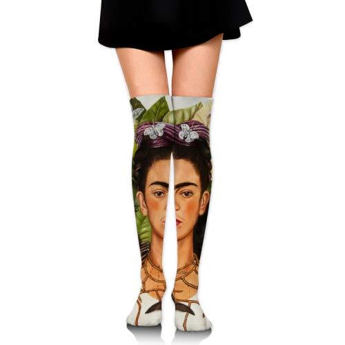 vbndgfhjd Unisex Frida Kahlo.jpg Crew Fashion Novelty Socks
