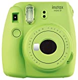 Fujifilm Instax Mini 9 Instant Camera, Lime Green (Electronics)