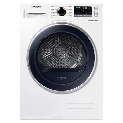 Samsung DV90M5000QW Asciugatrice 9 kg, Bianco con Obl Blu