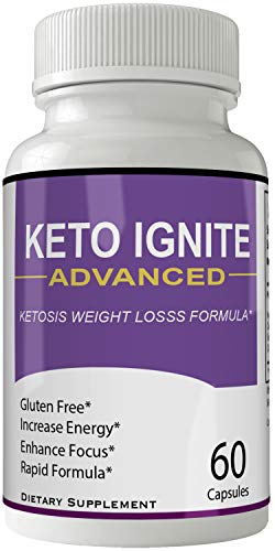 Keto Ignite Advanced Pills Weight Loss Supplement, Appetite Suppressant with Ultra Advanced Natural Ketogenic Capsules, 800 mg Fast Formula with BHB Salts Caffeine Ketone Diet Boost Metabolism 1