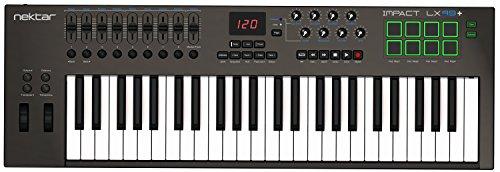 Nektar Impact LX49+ Keyboard Controller, Black