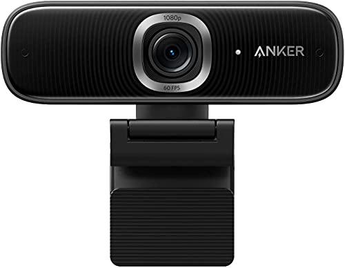 Anker PowerConf C300 ウェブカメラ AI機能搭載 フル HD モーショントラッキング 高速オートフォーカス 1080p 高画質 ノイズリダクション オートゲインコントロール 画角調整機能 プライバシーカバー Zoom認証